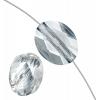 10x8mm Blue Shade Crystal